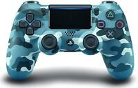 Genuine Sony DualShock 4 Wireless Controller for PlayStation 4 - Blue Camouflage