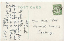 Genealogy Postcard - Family History - Hall - Papworth Everard - Cambridge BH4590