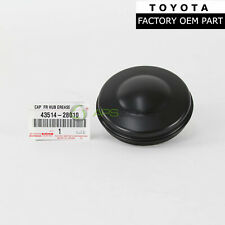 GENUINE TOYOTA TACOMA 4RUNNER GX460 GX470 FRONT HUB GREASE CAP OEM 43514-28010