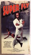 Superfly (Prev. Viewed VHS, 1972, Duplicated 1998)Ron O'Neal, Carl Lee  RARE HTF