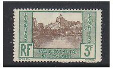 OCEANIC COLONIES - 1929,3F papetoix Bay (papier dos) TAMPON - Excellent état -