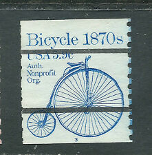 Scott used 1901 5.9ct Bicycle PN3 precancel line simgle LP