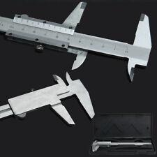 Stainless Steel Metal 150mm Vernier Caliper Micrometer Gauge Measurement #k