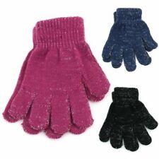 Kids Tinsel Gloves Hawkins Knitted Warm Winter Toddlers Children