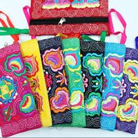 9couleurs ethnique broderie petites pochettes sacs Vintage Fashion femmes poche