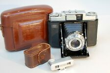 Zeiss Ikon Nettax (513/16) Folding Camera for 6x6cm with Add-on Rangefinder