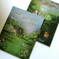 Lot 2 Pumpkin Ridge Tole Painting Books Seasons Vol 4 Cottages 2 Yvonne Kresel