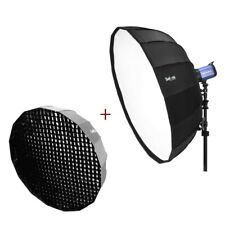 "85cm 34"" Quick Folding Portable Beauty Dish Umbrella Softbox with Bowens Mount"