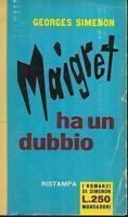 (Georges Simenon) Maigret ha un dubbio 1960 Mondadori 47