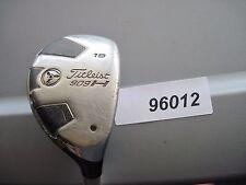 Titleist 909H  19° Hybrid VooDoo Stiff Flex Graphite USED #96012