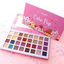 Cake Pop 32 Shade Eyeshadow And Glitter Palette By Amor Us Brand.