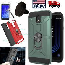 For Samsung Galaxy J7 2018/Top/Aero Hard Case Cover+Screen Protector+Car Holder
