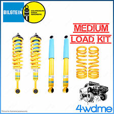 "Toyota Prado 120 Series Bilstein B6 King Coil Spring MEDIUM COMPLETE 2"" Lift Kit"
