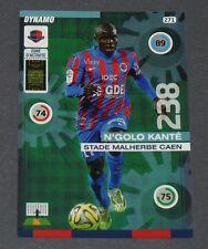 N'GOLO KANTE STADE MALHERBE CAEN ROOKIE FOOTBALL ADRENALYN CARD PANINI 2015-2016