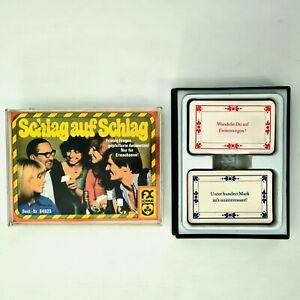 ©1978 FX Schmid Kartenspiel FRIVOLES FRAGE/ANTWORT SPIEL für Erwachsene