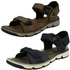 Mens Clarks Open Toe Summer Sandal 'Explore Part'