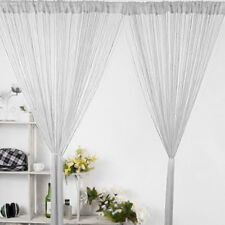 String Curtains Patio Net Fringe Panel For Door Screen Windows Divider 1*2M GIFT