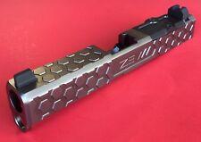 ZEV Technologies HEX Custom Stainless Slide RMR cut GRAY for Glock 19 G4