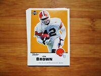 CLEVELAND BROWNS Retro TEAM SET - Jim Brown