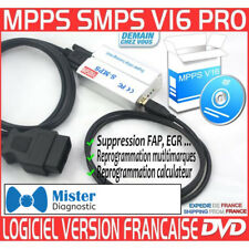MPPS SMPS V16 - REPROGRAMMATION ECU CARTOGRAPHIE MAP IMMO-OFF FAP EGR