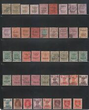 A RARE COLLECTION OF INDIA PATIALA STATE TELEPHONE QV. to KGVI. 44 DIFF STAMPS.