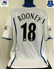 Everton FC, England ROONEY 02/03 Away Football Shirt (L) Soccer Jersey