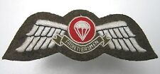 South Africa volunteer LEGION OF FRONTIERSMEN FREE FALL PARACHUTE JUMP WING II