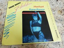 Flashdance Ost Manhunt Karen Kamon 45 giri usato France press 1983 rare