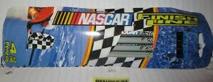 NASCAR FINISH LINE 4-Pack Pencils Gray with Checkered Flag USA Made by DIXON