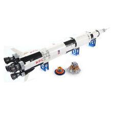 Apollo Saturn V Space Rocket Model Building Blocks Toy