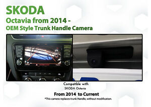 Skoda Octavia 5E 2013 Onwards Factory Integrated Reversing Camera Kit