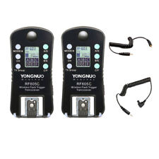 Yongnuo RF-605 C1/C3 Wireless Flash Trigger per Canon Eos