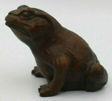 Frog/Toad Figurines Red Mill Mfg Co Handcrafted USA Vintage Lot of 2