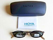 Brand New NAUTICA Magnetic POLARIZED Clip-On, Dual Use Sun/Prescription Eyeglass