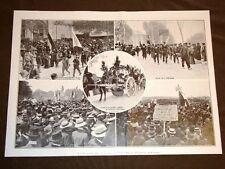 Rivolta del vino nel mezzodì della Francia nel 1907 Perpignano Béziers Narbona