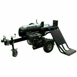 Millers Falls 50 Ton Log Splitter with Hydraulic Lifting Table Wood Splitter!