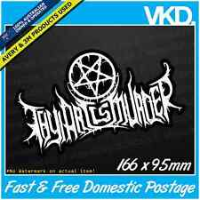 Thy Art Is Murder Sticker/ Decal - Band Music Death Heavy Metal Hardcore Vinyl