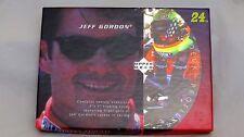 1996 Upper Deck Profiles Jeff Gordon, Highlights of Career, 5 x 7 , 20 Cards