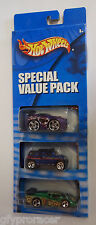 Hot Wheels SPECIAL VALUE PACK 3 CAR PACK