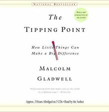 New 3 CD Tipping Point Malcolm Gladwell