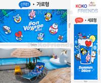 BTS BT21 Official Summer Beach Bath Towel KPOP Merch MD Authentic K-POP Goods