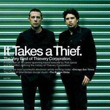 THIEVERY CORPORATION IT TAKES A THIEF The Very Best DIGIPAK CD NEW