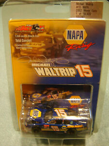2002 ACTION Michael Waltrip #15 NAPA 1:64 Hood Opening Chevy T/Concpt NASCAR NEW
