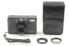 【MINT in Case】 Contax T3 D Black Double Teeth 30.5 Adapter & Filter From Japan