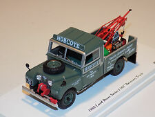 "1/43 True Scale Models TSM Land Rover Series I 107"" Recovery Truck TSM124380"