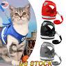 Dog Harness Pug Dog Nylon Mesh Puppy Cat Harnesses Vest Walking Lead Leash XS-XL