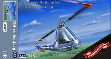 AMP 48007 Helicopter Hiller XH-26 Jet Jeep plastic model kit 1/48