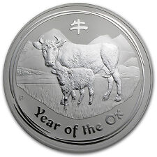 2009 1 Kilo Year of the Ox Silver Coin (Series II)