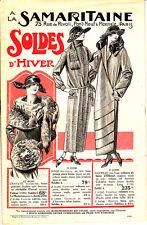 LA SAMARITAINE SOLDES D'HIVER CATALOGUE MODE DE 1923
