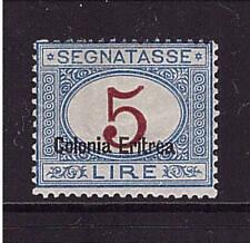 Italienisch Eritrea, Mi-Nr. P 10 II, Portomarke, ungebraucht, Porto (21422)